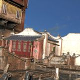 Old City in China Stock Photography
