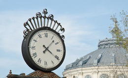 Old city clock Royalty Free Stock Image