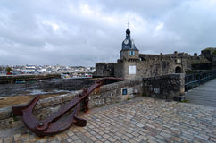 Old city of concarneau Stock Photos