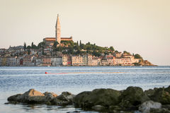 Old city core of Rovinj Royalty Free Stock Photography