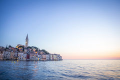 Old city core in Rovinj Stock Photography