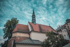 Old city Cracow stock photography