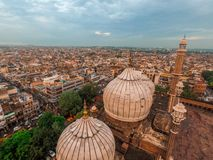 Old City of Delhi stock photography