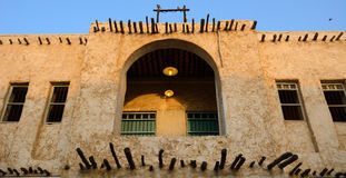 The old city, Doha, Qatar Royalty Free Stock Image