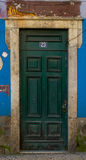 Old City Door. In Portuguese style Stock Images