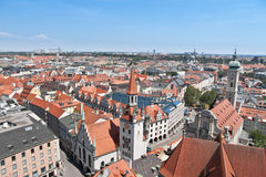Old city, downtown, Munich, Germany Royalty Free Stock Photography