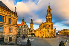 Old city of Dresden, Germany Stock Photo