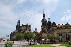 Old city dresden Stock Photography