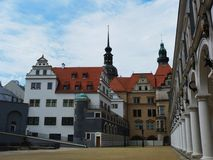 Old city dresden Stock Photo