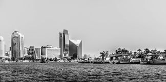 Old city in Dubai stock image