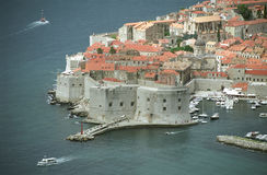 The old city of Dubrovnik Royalty Free Stock Photo