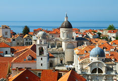 Old City of Dubrovnik Stock Images