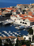 Old city Dubrovnik. View on old city Dubrovnik Royalty Free Stock Photo