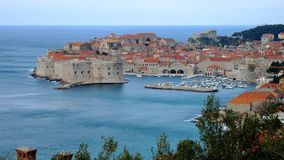 Old city of Dubrovnik Croatia Stock Images