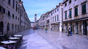 Old city of Dubrovnik Croatia Stock Image