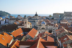 Old city of Dubrovnik, CROATIA. Royalty Free Stock Photography
