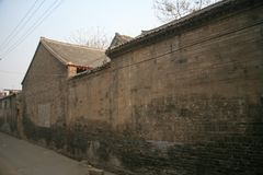 The old city dwellings in the old city of Luoyang. Shi Ke, the old city of Luoyang, dates back to the Western Zhou Dynasty in 1042 BC. In the Northern Song stock photos