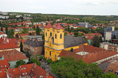 Old city Eger Hungary Royalty Free Stock Photography