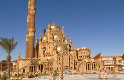 Old city in Egypt. Beautiful mosque in the Old city.Egypt Stock Images