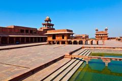 Old city of Fatehpur Sikri, India. Royalty Free Stock Photo