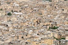 The old city of Fez Royalty Free Stock Photos