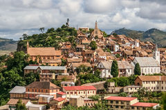 Old city of Fianarantsoa Royalty Free Stock Image