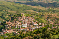 Old city of Fianarantsoa Royalty Free Stock Photo