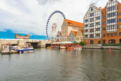 Old city Gdansk, Poland Royalty Free Stock Images