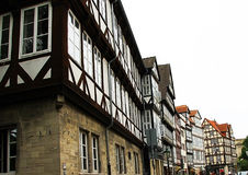 Old city, Germany,street, facade Stock Image