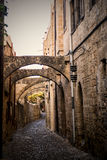 Old city greece Royalty Free Stock Photography