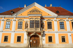 Old city, Gyor, Hungary Royalty Free Stock Image