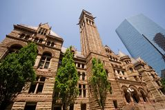 Old City Hall Stock Photography
