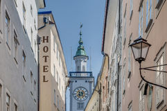 Old City Hall (Altes Rathaus) at Salzburg, Austria. Old City Hall (Altes Rathaus) located at Salzburg, Austria stock images