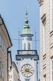 Old City Hall (Altes Rathaus) at Salzburg, Austria Royalty Free Stock Photos
