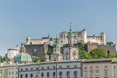 Old City Hall (Altes Rathaus) at Salzburg, Austria Stock Images