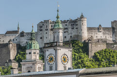 Old City Hall (Altes Rathaus) at Salzburg, Austria Stock Image