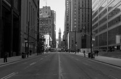 Old City Hall and Bay Street Toronto Stock Photography