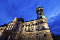 Old city hall in Bielsko-Biala Stock Image