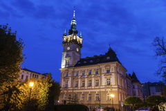 Old city hall in Bielsko-Biala Royalty Free Stock Photo