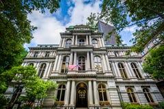 Old City Hall, in Boston, Massachusetts. Stock Photo