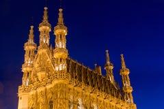 City Hall Leuven Stock Photography
