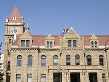Old City Hall in Calgary, Alberta. In Canada royalty free stock photo
