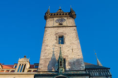 Old City Hall Clock Tower, Prague, Bohemia Royalty Free Stock Photo