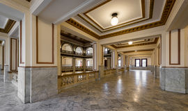 Old City Hall corridor Royalty Free Stock Photos