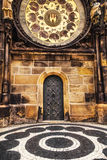 Old City Hall door in Prague Royalty Free Stock Photography