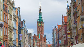 Old city hall Gdansk, Poland. Royalty Free Stock Photography