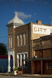 Old city hall in Granger, Texas. The ornate historic City Hall building and architecture in Granger, Texas Stock Photo