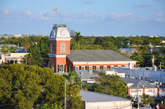 Old City Hall in Key West, Florida Stock Photos