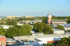 Old City Hall in Key West, Florida Stock Photo