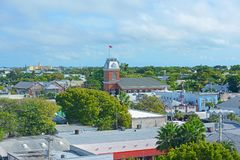 Old City Hall in Key West, Florida, USA Stock Photography
